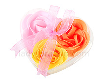 Floral Soap Gift Box Set