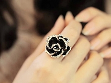 Jewel Rose Ring