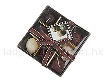 Chocolate Scented Candle Gift Box