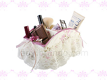Lace Pen and Brush Holder
