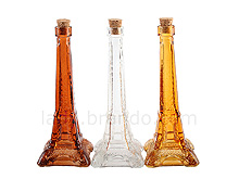 Eiffel Tower Glass Bottle