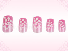 Cherry Blossoms Nails