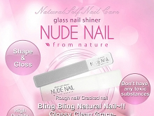 Nude Nail Glass Nail Shiner