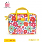 My Little Shoebox 13 inch Laptop Carry case - Flower