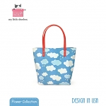 My Little Shoebox Audrey-Tote - Cloud