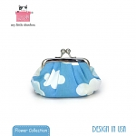 My Little Shoebox Coin purse - Cloud