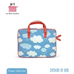 My Little Shoebox 13 inch Laptop Carry case - Cloud