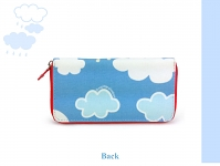 My Little Shoebox Long wallet - Cloud