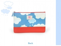 My Little Shoebox Passport case - Cloud