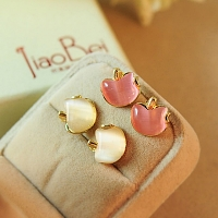 Jewel Apple Earrings