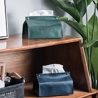 PU Leather Paper Towel Bag