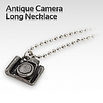 Antique Camera Long Necklace