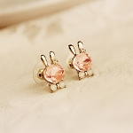 Bling Bling Bunny Earrings