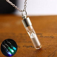 Hourglass Luminous Necklace