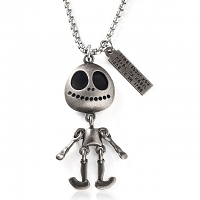 Titanium Steel Alien Necklace