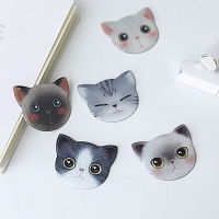 Cute Cat Head Mini Mirror
