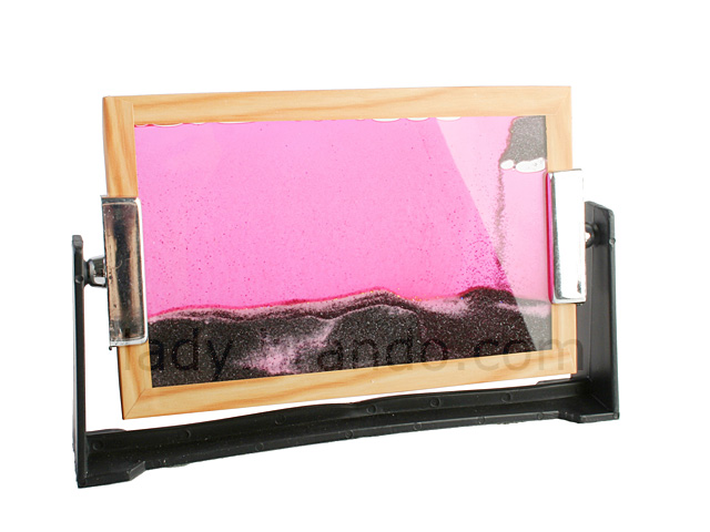 wood frame sand moving picture - Moving Picture Frame