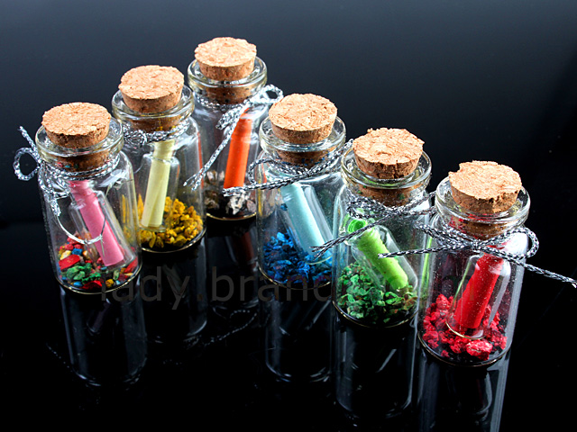 Love Word Bottles (6 Bottles)