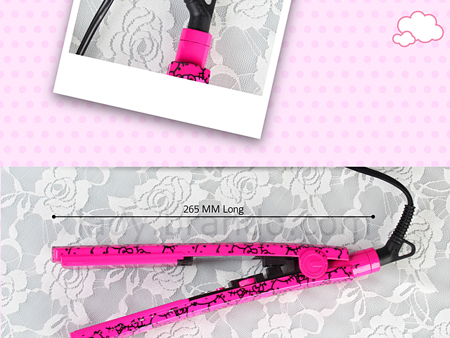 Hello Kitty Ceramic Flat Straightening Iron