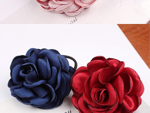 Flower Rubber Hair Band 6497