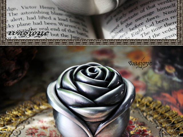 Retro Rose Jewel Box