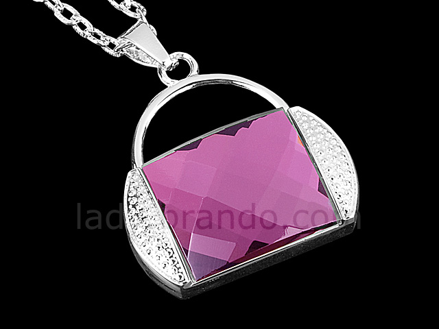 USB Jewel Handbag Necklace Flash Drive II
