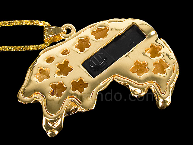 USB Jewel Doggie Necklace Flash Drive