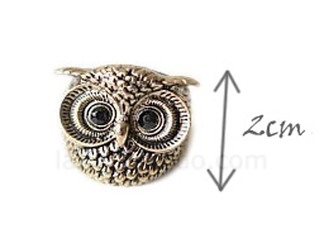 Antique Owl Ring
