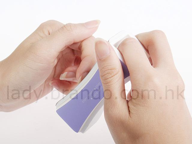 how to use nail shiner
