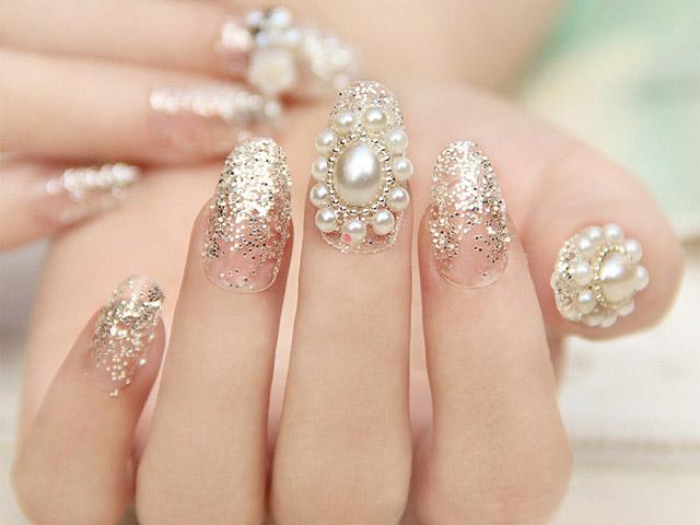Pearl Elegant Nails Pn 001